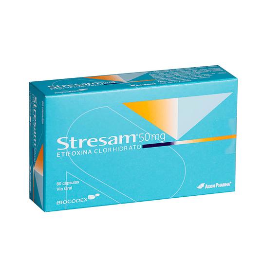 Stresam 50 mg 60 cápsulas