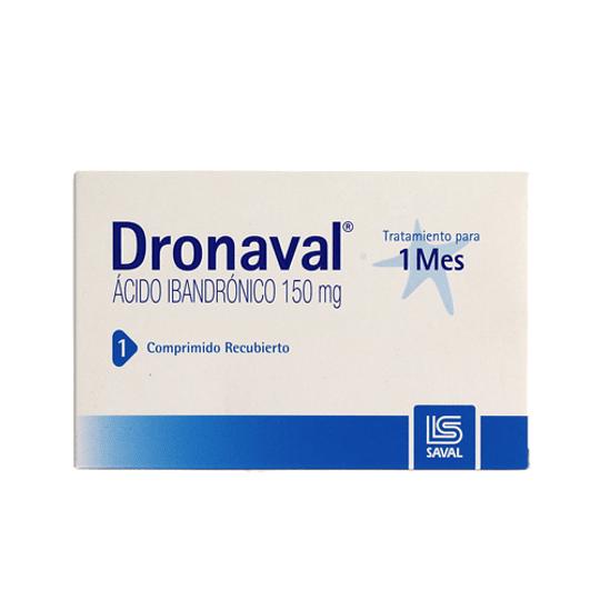 Dronaval 150 mg 1 comprimido