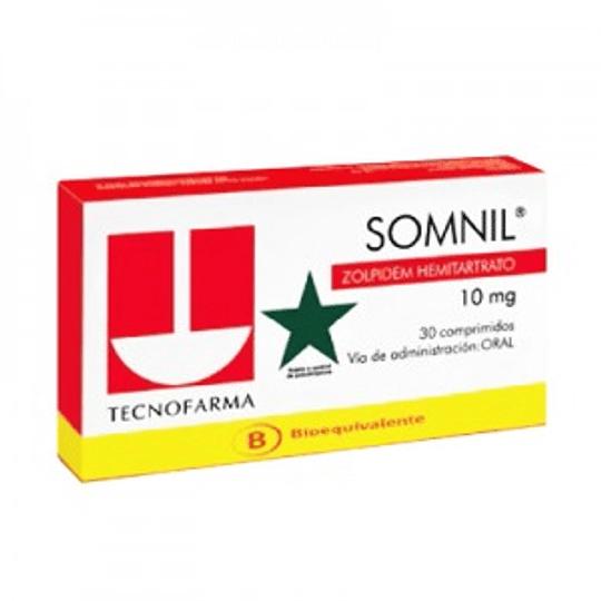 Somnil 10 mg 30 comprimidos