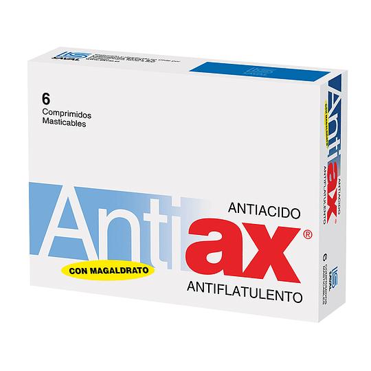 Antiax 6 comprimidos masticables