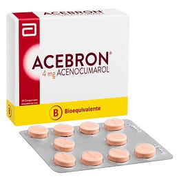 Acebron comprimidos 4 mg x 20