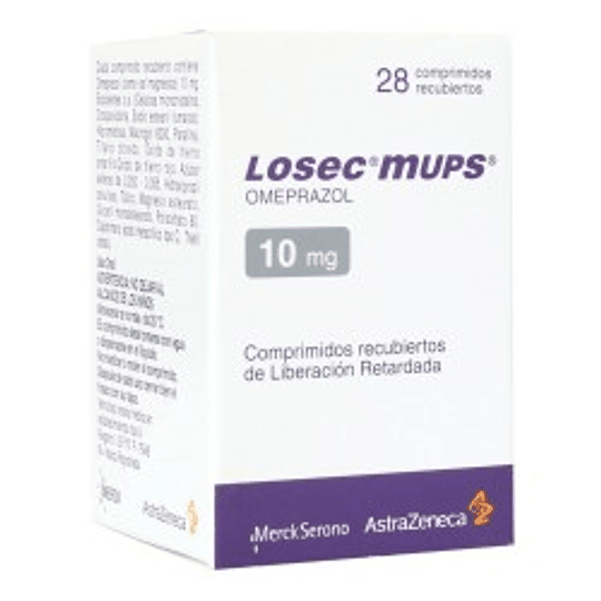 Losec mups 10 mg 28 comprimidos