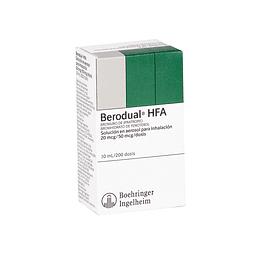 Berodual HFA Inhalador 10 ml 200 dosis