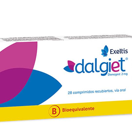 Dalgiet 2 mg 28 comprimidos