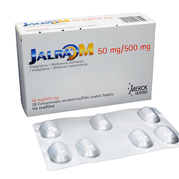 Jalra M 50 / 500 mg 28 comprimidos