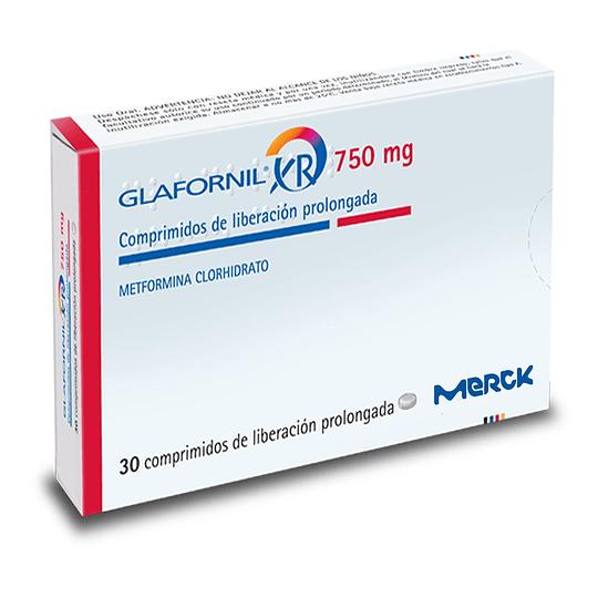 Glafornil XR 750 mg 30 comprimidos