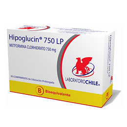 Hipoglucin LP 750 mg 30 comprimidos