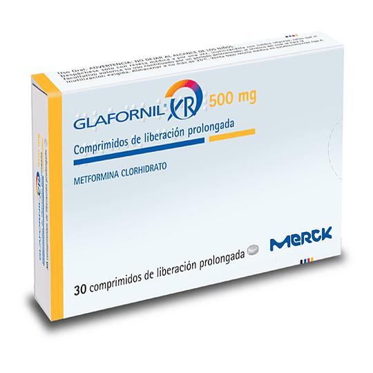 Glafornil XR 500 mg 30 comprimidos