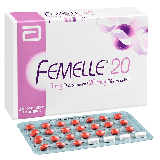 Femelle 20 3 mg 28 comprimidos