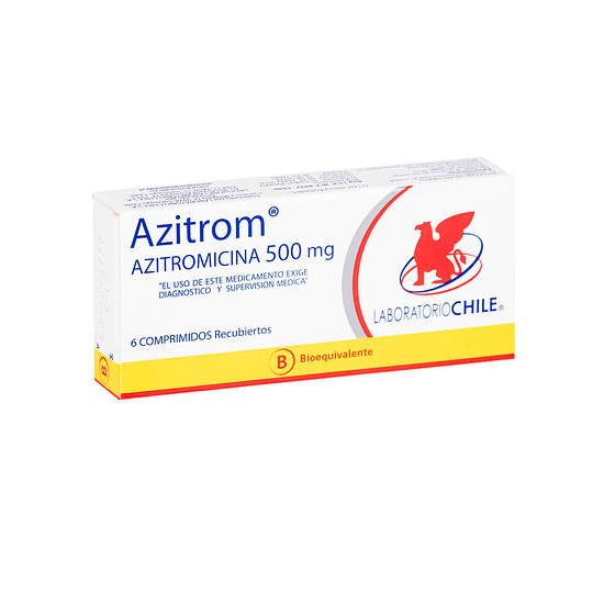 Azitrom 500 mg  6 comprimidos