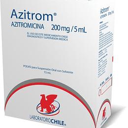 Azitrom suspension 200 mg x 15 ml