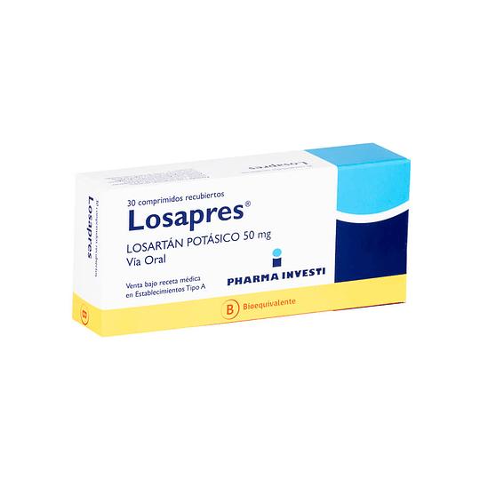 Losapres 50 mg 30 comprimidos