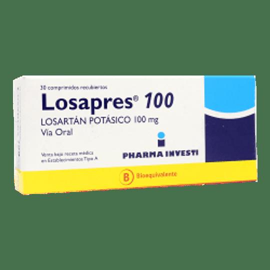 Losapres 100 mg 30 comprimidos