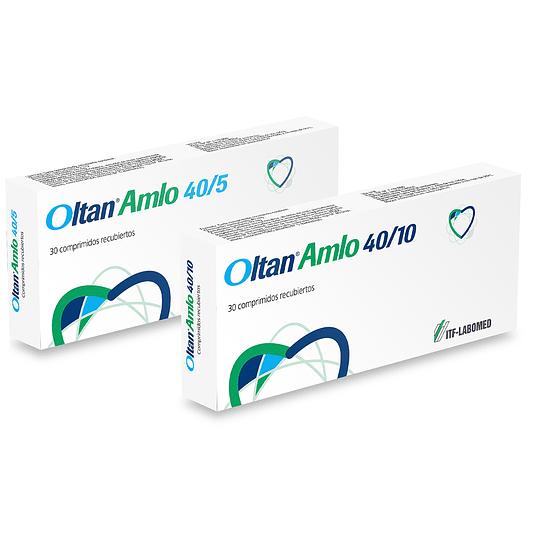 Oltan Amlo 40 / 10 mg 30 comprimidos