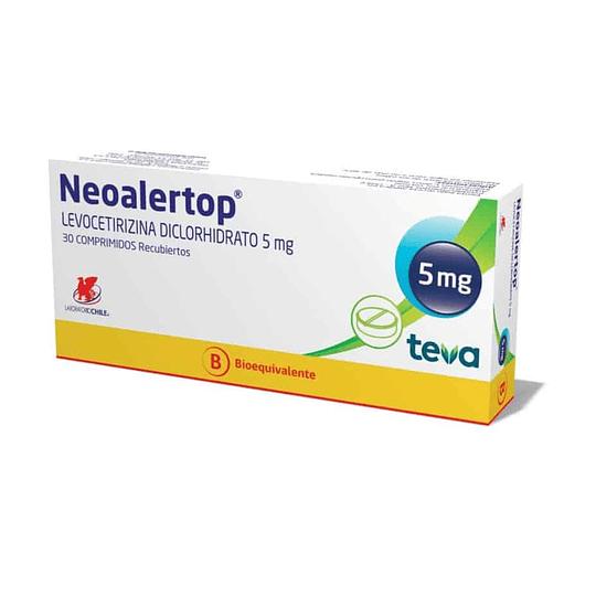 Neoalertop 5 mg 30 comprimidos