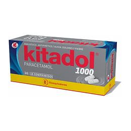 Kitadol 1 gr 18 comprimidos