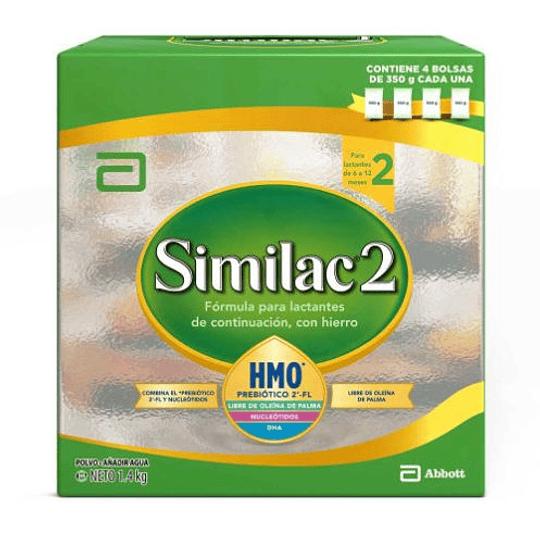 Similac 2 Polvo 1400 gramos