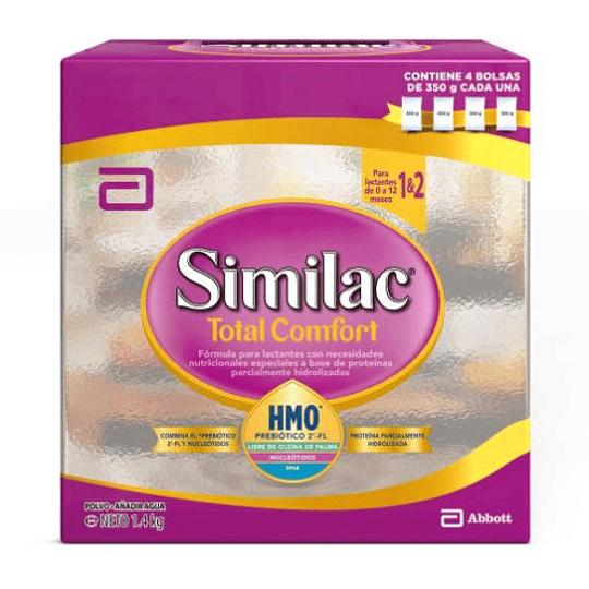 Similac Total Confort 1&2 Polvo 1400 gramos