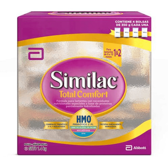 Similac Total Confort 1&2 Polvo 1400 gramos