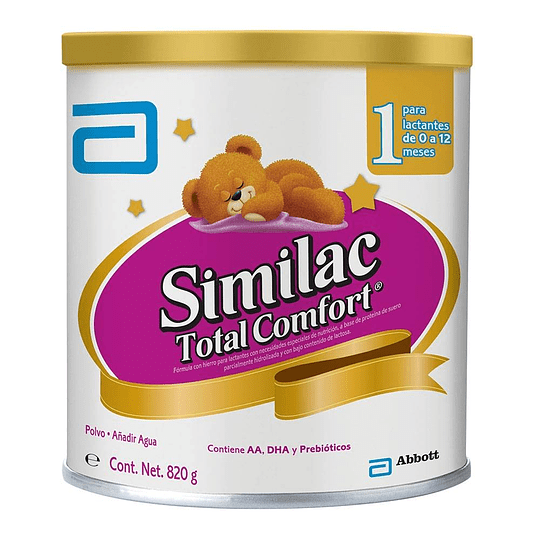 Similac Total Confort 1&2 Polvo 820 gramos