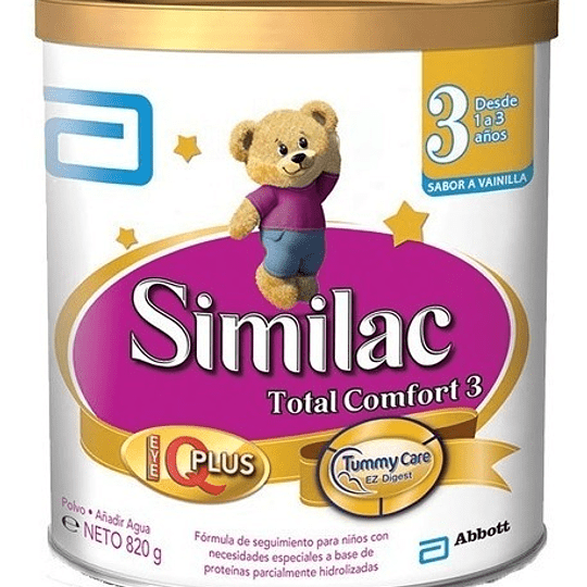 Similac Total Confort 3 Polvo 820 gramos