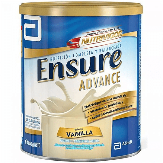 Ensure Advance Vainilla 850 gramos