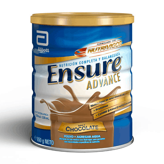 Ensure Advance Chocolate 850 gramos