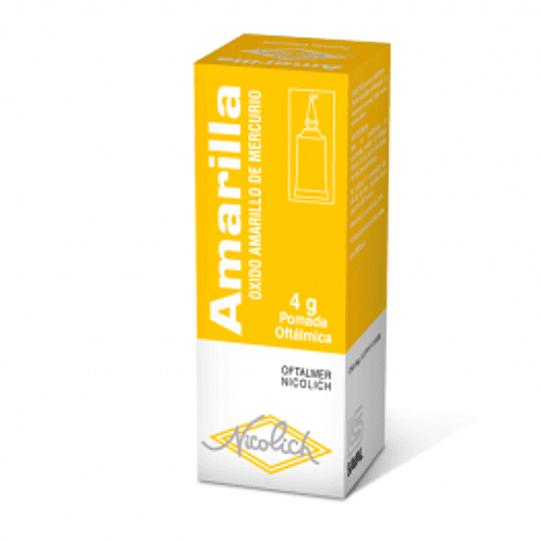 Amarilla 2% Unguento Oftalmico, 4 gramos
