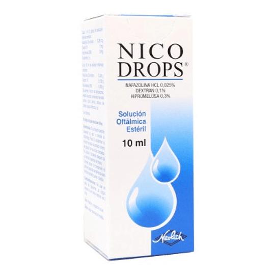 Nicodrops Solución oftálmica 10 ml