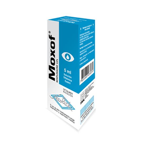 Moxof 0,5 % Solución oftálmica 5 ml