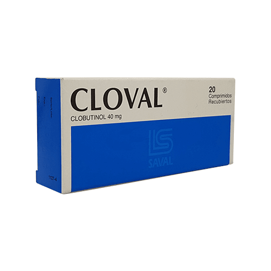 Cloval  40 mg 20 comprimidos
