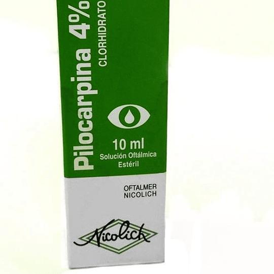 Pilocarpina 4 % Solución oftálmica 10 ml