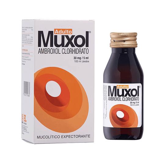 Muxol 30 mg / 5 ml jarabe 100 ml, adulto