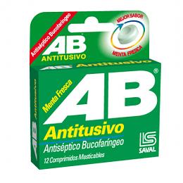 AB Antitusivo Menta Fresca 12 comprimidos