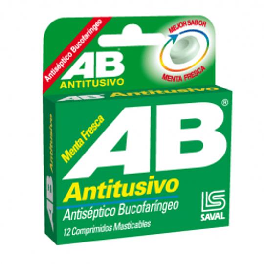 AB Antitusivo Menta Fresca 12 comprimidos C3