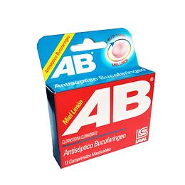 AB Miel Limón 12 comprimidos