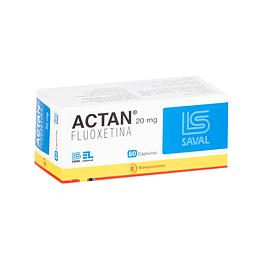 Actan 20 mg 60 cápsulas