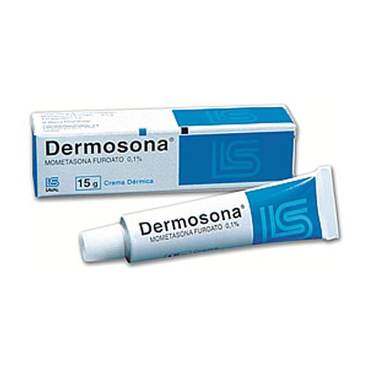 Dermosona 0,1 % crema 15 gramos