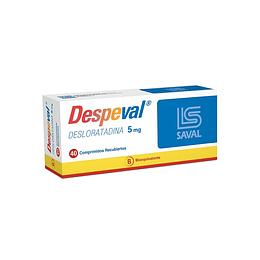 Despeval 5mg 40 comprimidos