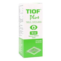 Tiof Plus Solución oftálmica 10 ml