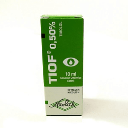 Tiof 0,5 % Solución oftálmica 10 ml