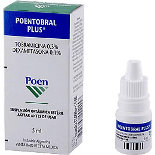 Poentobral Plus Solución oftálmica 5 ml