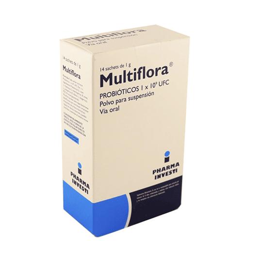 Multiflora 14 sobres 1 gramo