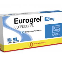 Eurogrel 75mg por 35 comprimidos