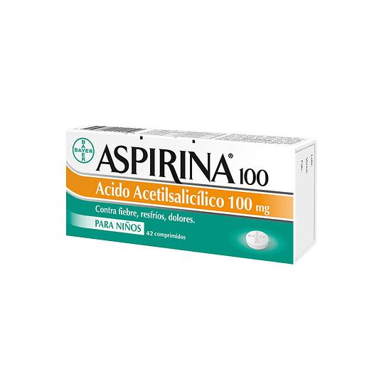 Aspirina Infantil 100 mg por 42 Comprimidos