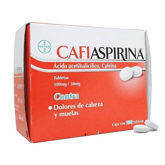 Cafiaspirina 100 Comprimidos