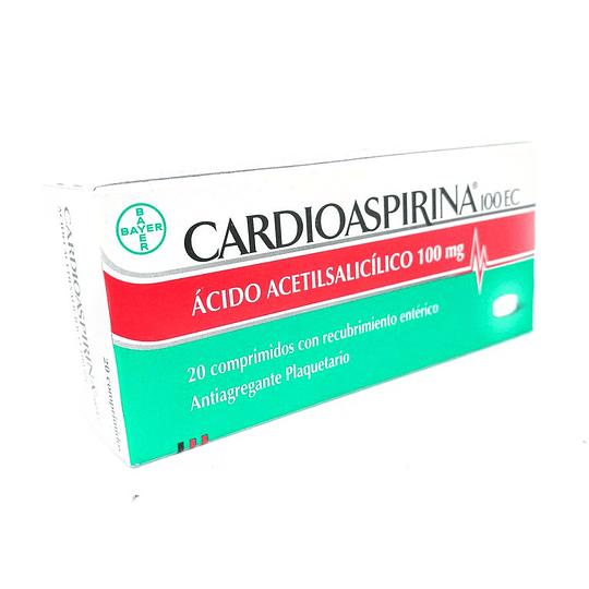 Cardioaspirina 100 mg 20 comprimidos