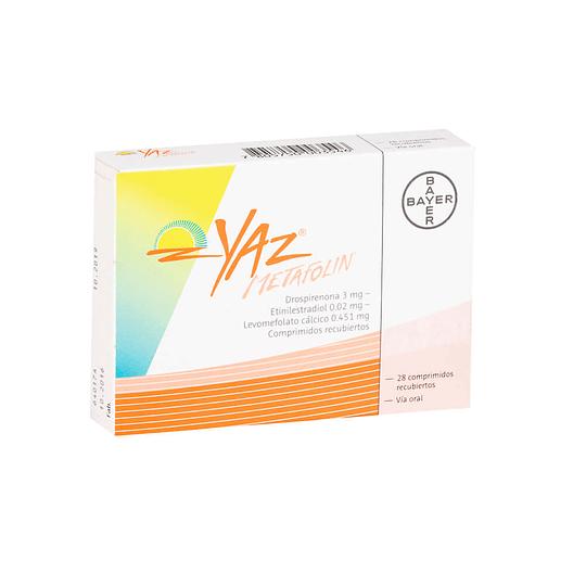 Yaz Metafolin 28 comprimidos