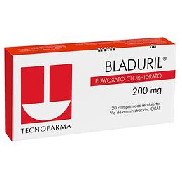 Bladuril 200 mg  20 comprimidos
