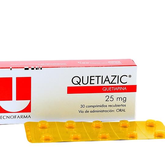 Quetiazic 25 mg 30 comprimidos